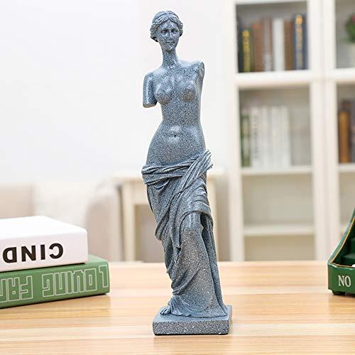 Hywot Modow Klassische Antike Griechische Venus De Milo Statue Skulptur, Stellt Lebhaft Die Göttin Aphrodite DAR,Blue