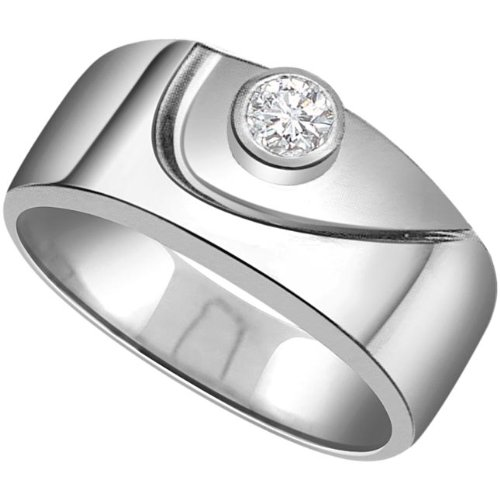 SURATDIAMOND Surat Diamond 14K White Gold Diamond Ring