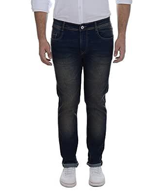 Ben Martin Men's Denim Regular Fit Jeans (Brown, 28)