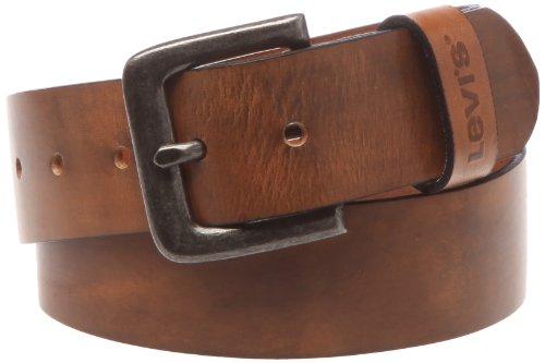 LEVIS FOOTWEAR AND ACCESSORIES Herren Gürtel Stinson, Braun (Medium Brown), 85 cm Preisvergleich