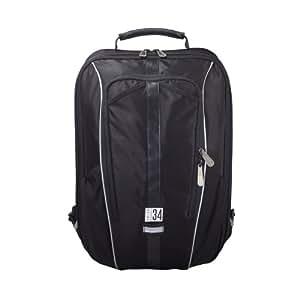 Union 34 Stripe Rucksack Seatpost Bag 15.6-inch Laptop Case - 30 L Medium, Seatpost Fixing, Black