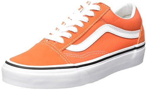 Arancione 47 Sneaker EU Vans Old Skool Sneaker 47 Unisex Adulto Flame/True k3q d1af6d