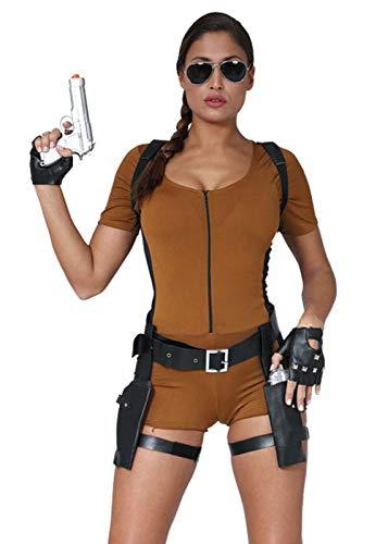 Magic Box Costume de Chasseur de trésors de Lara Croft de Womens S/M (UK 8-10)