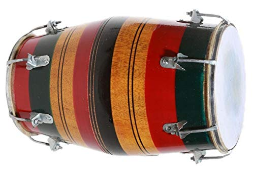 Makan Wedding Kirtan Sangit Dhol/Dholak/Dholki Drum With Carry Bag