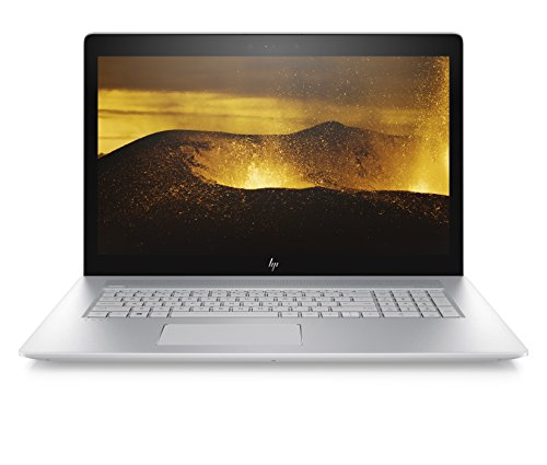 HP ENVY 17-ae142ng (17,3 Zoll / Ultra HD) Laptop (Intel Core i7-8550U, 1 TB SSD, 16 GB RAM, Nvidia GeForce MX150 4 GB, DVD-RW, Windows 10 Home) silber