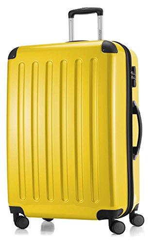 Hauptstadtkoffer coque série alex valise à roulettes 119 l reisegutschein jaune brillant - 20