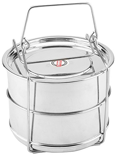 Embassy Cooker Separator Set (2 Containers; Suitable for 3 Ltrs Prestige Outer Lid Cooker)  available at amazon for Rs.459
