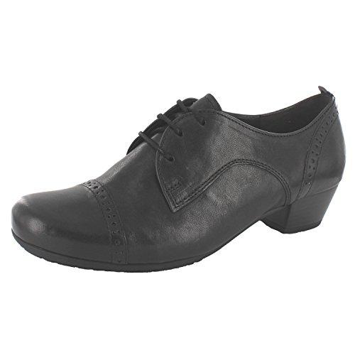 Gabor comfort Malta 36.255.27 femmes Chaussures à lacets Noir