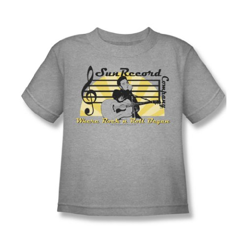 Sun Records - Sun Record Company Juvy T-Shirt in Heather, Large (7), Heather (Juvy Heather T-shirt)