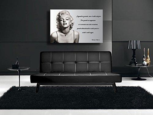 Quadro moderno MARILYN MONROE - STAMPA SU TELA Quadri Moderni Arte ...