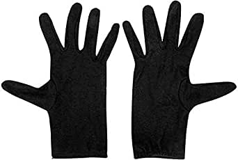 Men's & Women's cotton half Gloves for summer. Protection From The Sun Burn/Heat/Pollution. (Free Size))