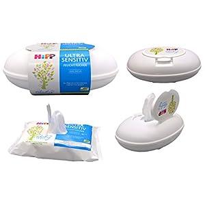 HiPP Babysanft Feuchttücher Ultra Sensitiv in der Box, Art.Nr. 9575, VE 1x 52 Stück