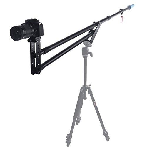 Andoer Portable DSLR Mini Jib Video Camera DV Crane Jibs Rocker Arm Extention Up to 6kg with Bag Test