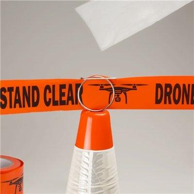 Hoodman Tape Clips and Drone Flight Zone Tape Kit