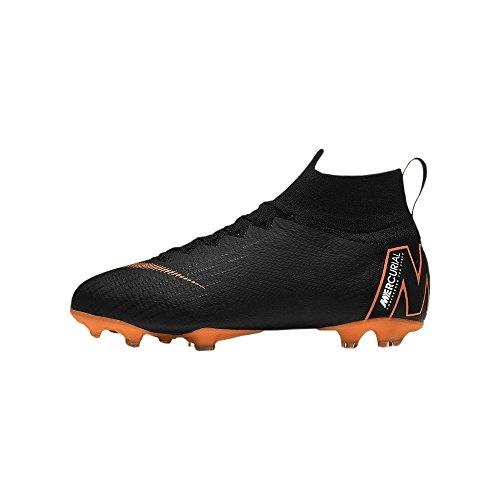 Nike Unisex-Kinder Jr Superfly 6 Elite Fg Fitnessschuhe, Mehrfarbig (Black/Total Orange-W 081), 36.5 EU (Kinder Kobe 6)