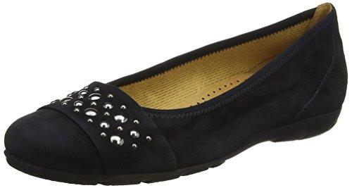 Gabor Shoes Damen Chance Geschlossene Ballerinas, Blau (Pazifik), 36 EU