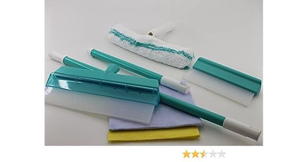 Aqua clean kristall fensterwischer abzieher set