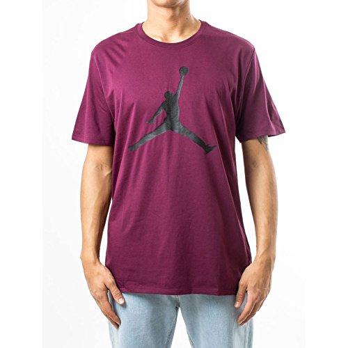 Preisvergleich Produktbild Jordan T-Shirt – Sportswear Brand 6 granat/schwarz Größe: S (Small)