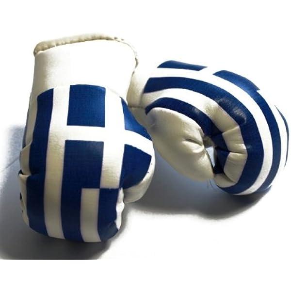 Mbg 010 Mini Boxhandschuhe Griechenland Sport Freizeit