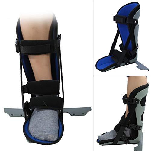 JM-D Knöchel Gehhilfe- Fuß-Bruch, Klammer, Unterstützung, Schutz, Night Splint, Fuß Drop Knöchelbandage Schiene für Plantarfasziitis Ferse Schmerzen,S -
