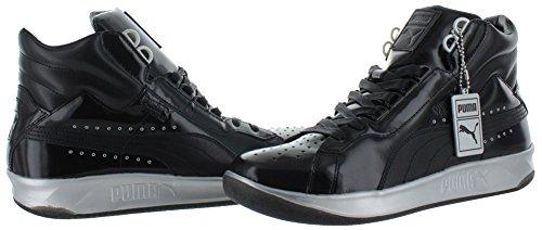 Puma Pumaxmeekxsil Synthétique Chaussure de Tennis Black-Puma Silver