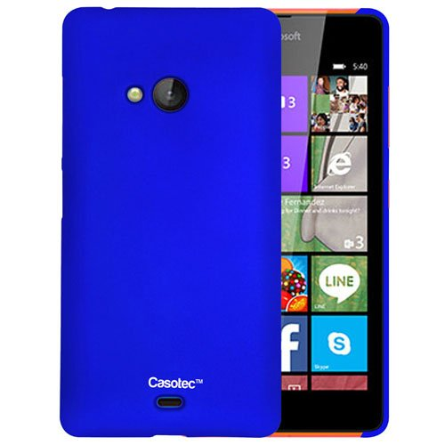 Casotec Ultra Slim Hard Shell Back Case Cover for Microsoft Lumia 540 - Dark Blue  available at amazon for Rs.125