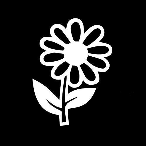 Auto Aufkleber Lonely Stolz Daisy Blume Pflanze Kunst für Reisemobil Auto Styling Reflektierende Vinyl Aufkleber 15X10 cm - Daisy Küche