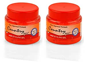 Country Born Hair Styling Gel Wet Set (2pcs)