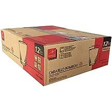 Caja 12 Vasos Carajillo Transparentes - para Bombon o Cortado Café Expreso Tazas Nespresso 12,