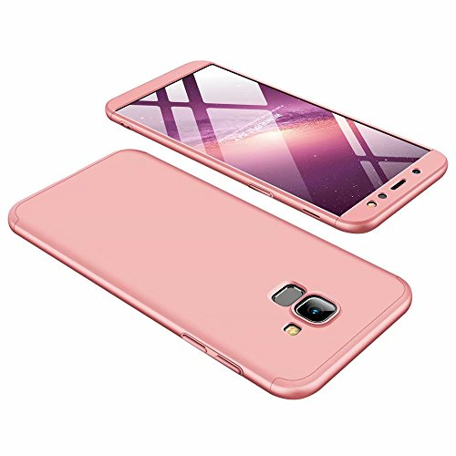 Funda Samsung Galaxy A6 2018 Ttimao PC Hard Case [Película de Cristal...