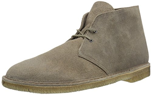Clarks Desert Boot Mens Taupe Suede
