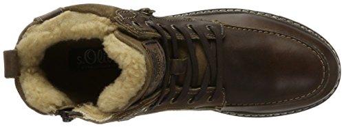s.Oliver 16214, Bottes Rangers Homme Marron (Cigar)