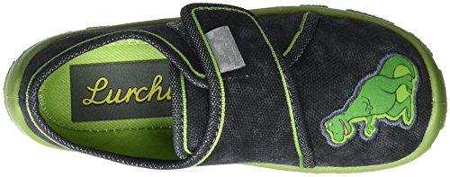 Lurchi Erny, chaussons d'intérieur garçon Grau (Grey Green)