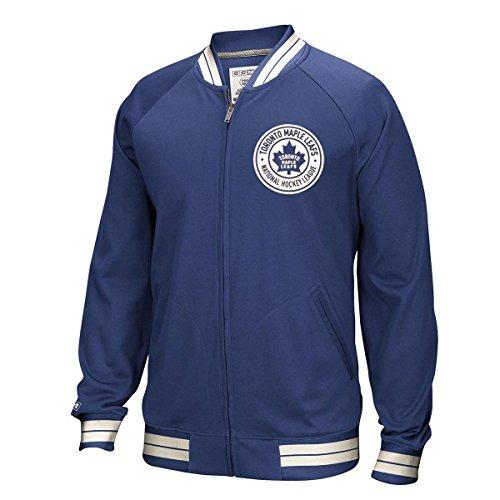CCM Toronto Maple Leafs Full Zip NHL Track Jacke XL (Maple Leaf Jacke)