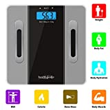 Healthgenie Body Composition Weighing Scale with BMI and Body Weight - (Grey)