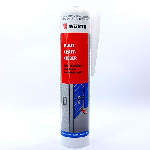 Würth Multi-Kraftkleber Bau-Kleber Montage-Kleber Montage-Klebstoff 0893100110