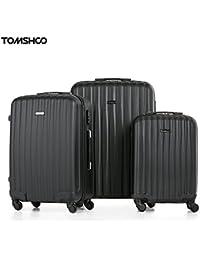 d4cf44db3 TOMSHOO Juego de Maletas Equipajes de Viaje Material de ABS 20