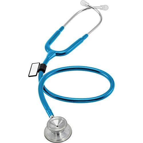 MDF® Acoustica luxuriöses, leichtes Zweikopf-Stethoskop - Hellblau