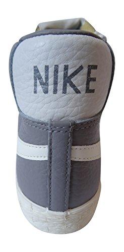 Nike Damen Blazer Mid Leder VNTG Hi Top Turnschuhe 525366Sneakers Schuhe light charcoal sail 001