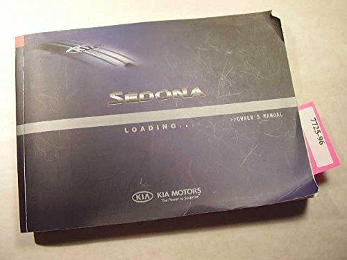 2006-kia-sedona-owners-manual-original