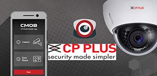 CP PLUS IP Dome Überwachungskamera für Outdoor/Indoor mit Nachtsicht, 1280x960p 1.3pix 720P Tilt 90°, Mobile App Alarm, Bewegungserkennung Antivandale