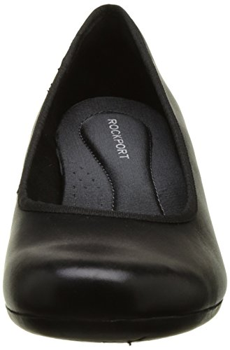 Rockport - Hezra Pump, Scarpe col tacco Donna Nero (Black Leather)