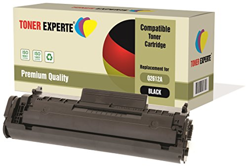 TONER EXPERTE® Premium Toner kompatibel zu Q2612A 12A für HP Laserjet 1010,...