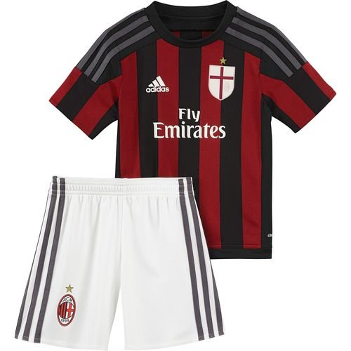 Adidas Acm H Mini - black/vicred/granit, Größe Adidas:116 (Kinder Apparel American T-shirt)