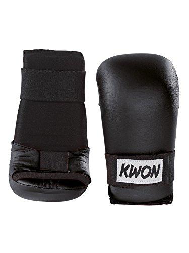 Kwon Handschützer Iadro schwarz für Karate oder Ju Jutsu Jiu Jitsu BJJ