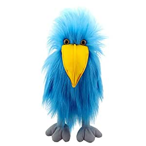 The Puppet Company - Colourful Birds - Blue Bird Hand Puppet