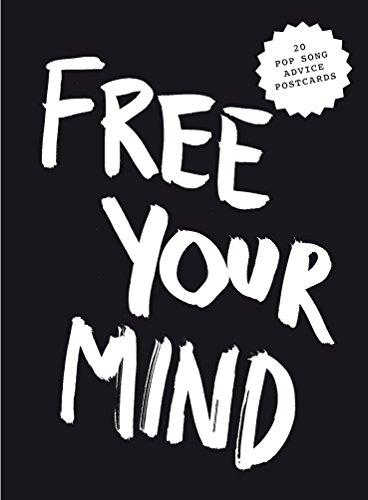 Free your mind postcard block
