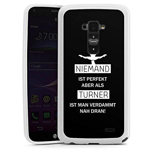 DeinDesign LG G Flex Silikon Hülle Case Schutzhülle Turner Sport Turnen Flex Turner
