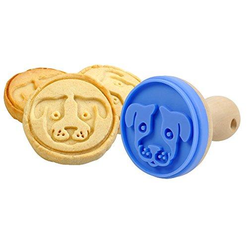 Schöner Plätzchen Keks Stempel Keksstempel Hund, Katze oder Gecko, Auswahl:Hund