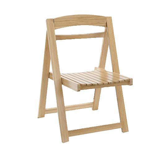 GEXING Chaise Pliante/Home Chaise Pliante/Computer Leisure Chair/Chaise De Bureau Simple/Chaises en Plastique,OneColor-51 * 51 * 80cm